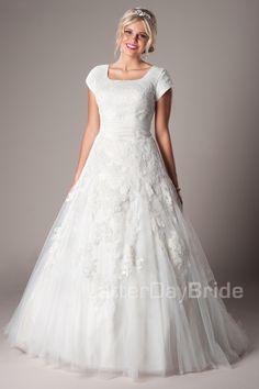 Adeelah Modest Wedding Dress Latter Day Bride & Prom Gateway Bridal