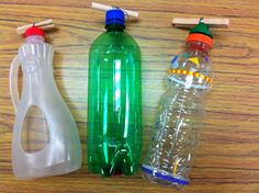 MyMusicalMagic: More Home-made Stringed Instruments - How to Make a chordophone or string-ophone from a plastic bottle.