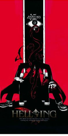 Alucard on his throne Hellsing