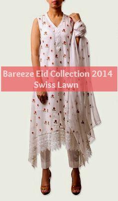 Bareeze Eid Collection 2014|Swiss Lawn, Cotton and Chiffon Dresses | She9pk