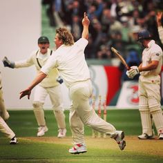 #ClassicAshesMoments #8: Warne's 700th at the MCG #Ashes #Cricket Ashes Cricket, England Cricket Team, Game, Instagram Posts, Sports, Hs Sports, Venison, Gaming, Sport