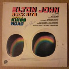 "SIGNED Elton John Rock Hits played by Kings Road Pickwick SPC-3516 12"" LP 33 RPM #Rock"