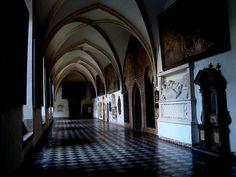 Krużganki klasztoru dominikanów w Krakowie. #dominikanie #kraków #cracow #klasztor #krużganki