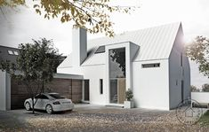 Modern home design Rural House, House In The Woods, Facade House, House Roof, Architecture Details, Modern Architecture, Architecture Drawings, Modern Bungalow, Building A New Home