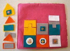 Felt puzzle pieces