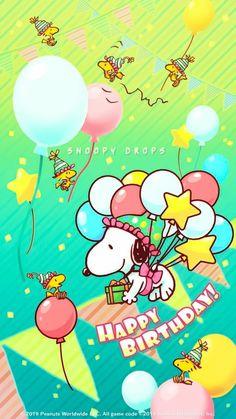 first birthday photo girl Happy Birthday Snoopy Images, Happy Birthday Art, Funny Happy Birthday Wishes, Happy Birthday Pictures, Happy Birthday Greetings, Birthday Cards, Sister Birthday, Birthday Quotes, Charlie Brown Y Snoopy