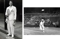 Rene Lacoste.  A French tennis player in the 1920s that popularized the short-sleeved cotton polo shirt and later founded a clothing company with a crocodile logo, after his nickname.