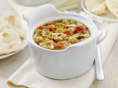 Spicy country veggie soup