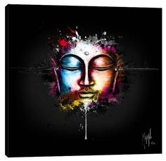 Stretched Canvas Print: Zen Pop by Patrice Murciano :