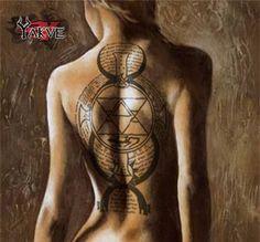 Fire Alchemy Tattoo Fire alchemy tattoo 1 by yakve