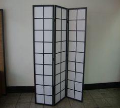 Zen 3Fold Screen - Black #furniturestore