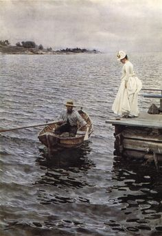 My dissertation is a much more pleasant place with Anders Zorn paintings in it.