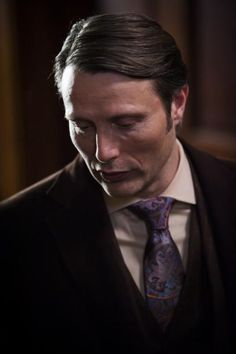 """Hannibal"" Yes renewed for a second season. Love this show, more and more...especially this guy...that voice!"
