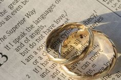 The top 7 scriptures for weddings