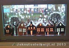 huisjes met sneeuw knutselen (uitleg: http://www.jeknutseleikwijt.nl/print/huisjes%20met%20sneeuw%20knutselen.pdf)