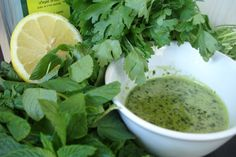 Glorious Green Sauce (great on cauliflower or potatoes!)