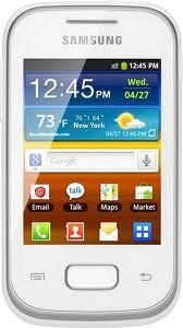 Samsung Galaxy Pocket S5300 Unlocked GSM Phone with 3G, Android 2.3 OS, 2MP Camera, GPS and Wi-Fi – White