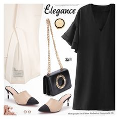 """Be Elegant"" by pokadoll ❤ liked on Polyvore featuring Lanvin, Bobbi Brown Cosmetics, Kate Spade and Trilogy"
