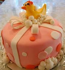 ducky baby shower cakes for a girl - Google Search