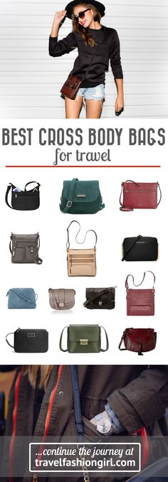 The absolute best shoulder bags for travel are cross body purses. There are a variety of styles available depending on the type of travel you plan on doing. Find the best styles at travelfashiongirl.com