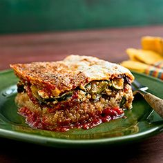 It may taste like comfort food, but this quinoa lasagna is healthy, packed with nutrients and not too heavy. http://blog.preventcancer.org/2013/healthy-recipe-quinoa-lasagna/