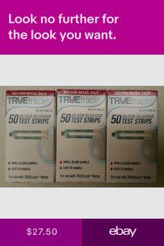 TRUE TRACK Diabetic Blood Glucose Strips 100 Strips EXP 06/2020 FAST