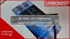 Video mit Unboxing einer LED-Stablampe mit 10 Watt Cree-LED #unboxing #ledstablampe #10watt #creeled