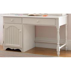 Hillsdale Furniture 1354-779 Westfield Desk in Off White