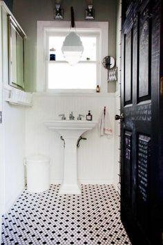 faience salle de bain leroy merlin noir et blanc en mosaique noir et blanc