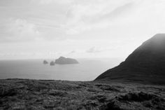 """looking to Boreray and the stacs from Hirta  the late George Sassoon, who travelled to St Kilda in 1965 aboard the """"Glen Carradale"""" owned by Alastair Gibson. These are some of his photos from that journey"""