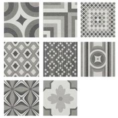 Perini Tiles porcelain patchwork - Modello - Kitchen feature tile below the bench??