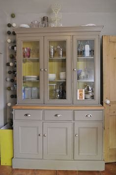 painted welsh dresser - Google Search