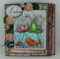 """From My Craft Room: Template for 3-Step Card (6"""" x 6"""") - front facing"""