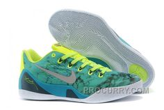 "new style 9db3c 5584a Nike Kobe 9 EM ""Easter"" Turbo Green Metallic Silver-Volt-Black For Sale  Online"