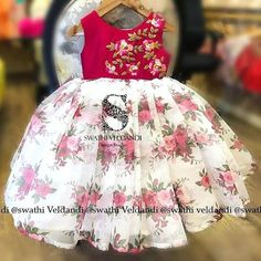 Baby Girl Dresses Fancy, Mom Daughter Matching Dresses, Baby Girl Frocks, Frocks For Girls, Toddler Girl Dresses, Girls Dresses, Girls Frock Design, Kids Frocks Design, Baby Frocks Designs