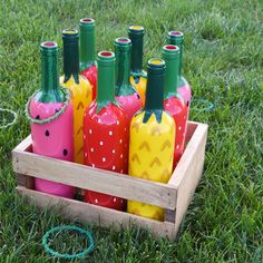 Arts and Crafts Store Fruit Salad Ring Toss Game Summer Crafts, Fun Crafts, Diy And Crafts, Crafts For Kids, Arts And Crafts, Backyard Games, Outdoor Games, Outdoor Fun, Diy Garden Games