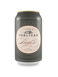 Publican Brewery by Daniel Guillermo, via Behance