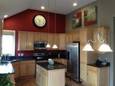 Kitchen Accent Wall Ideas | Kitchen Painting Accent Walls Design Ideas,  Pictures, Remodel And