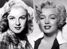When you look at the famous stars of the classic Hollywood era, do you think they've always looked like that? Do you think their beauty is a...