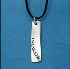 Like this product in the ChristianGiftsPlace.com Online Store and receive $0.85 off. Perfect for a name, date or special phrase. The Rectangular charm gracefully holds 25 symbols. THE CHARM IS BLANK. The text shown in the picture is sample text. Both the front and the back can be stamped. Please add up the TOTAL of . . .