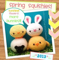 Spring Squishies | Free Amigurumi Patterns | Bloglovin'