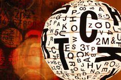 letter lighting by swelldesigner, via Flickr