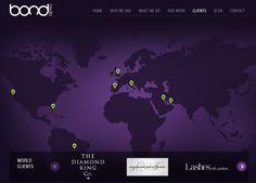 Some of our clients - Bond Media Design Development, Bond, Web Design, Around The Worlds, Art, Art Background, Design Web, Kunst, Performing Arts