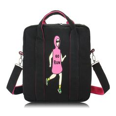 Material:Canvas    Lining Material:Polyester    Color:As the picture    Weight:500g    Length:30cm(11.81'')    Width:9cm(3.54'')    Height:34cm(13.39'')    Structure:Main Pocket,Back Pocket,Zipper Pocket    Closure:Zipper                        Package Include:    1 * Bag
