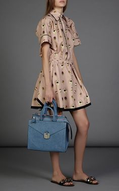 Alberta Dress In Poppy Print by No. 21 for Preorder on Moda Operandi