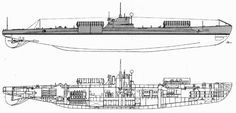 """Scire, Italian submarine + """"Pig"""" midget submarine"""