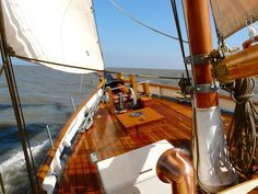 """Pilot cutter """"Morwenna"""" at sea Bristol Channel, Anchor Systems, Charter Boat, Sail Away, Boat Design, Boat Plans, Environmental Art, Boat Building"""