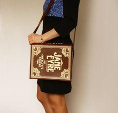 Handmade bags from Kru Kru Studio are designed to look like famous literary classics