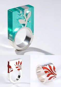 TheCarrotbox.com modern jewellery blog : obsessed with rings // feed your fingers!: Abaffy Klára / Ros Coope