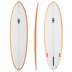 """The One Bad Egg by Phipps is a Hipsters delight. Clean lines of a performance egg with low rails and slight concave to V bottom. This board is amazing in big overhead surf with incredible paddle power and incredible drive. Perfect in waist high waves when looking for comfort and turning power. One of the best """"egg"""" shapes on the market.     With volume pushed higher in the board towards the nose, this board paddles like a dream and will get you into any wave, big or small, nice and ..."""